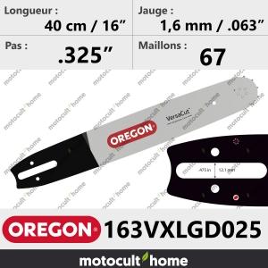 Guide de tronçonneuse Oregon 163VXLGD025 Pro-Lite 40 cm (remplace 163SLGD025 )-20