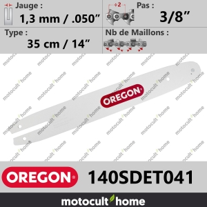 "Guide de tronçonneuse Oregon 140SDET041 Single Rivet 35 cm 3/8""-20"