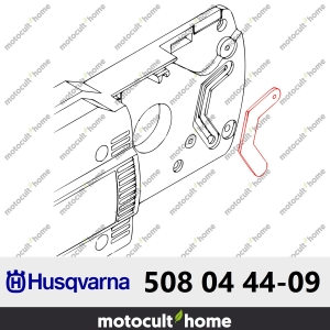 Joint Cache conduit huile Husqvarna 508044409 ( 5080444-09 / 508 04 44-09 )-20