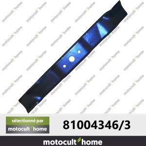 Lame de tondeuse Castelgarden Honda 81004346/3 CG81004346H3-20