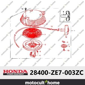 Lanceur complet Honda 28400ZE7003ZC ( 28400-ZE7-003ZC )-20