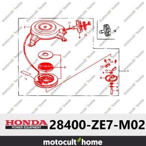 Lanceur complet Honda 28400ZE7M02 ( 28400-ZE7-M02 )-20