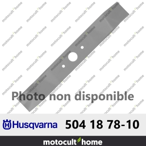 Lame de tondeuse Husqvarna 504187810 ( 5041878-10 / 504 18 78-10 )-20
