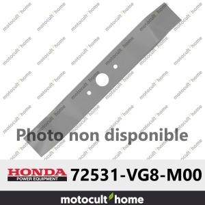 Lame de tondeuse tournante supérieur Honda 72531VG8M00 ( 72531-VG8-M00 )-20