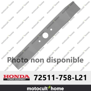 Lame de tondeuse droite Honda 72511758L21 ( 72511-758-L21 )-20