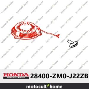 Lanceur complet Honda 28400ZM0J22ZB (28400-ZM0-J22ZB) (R280 ROUGE PUISSANT)-20
