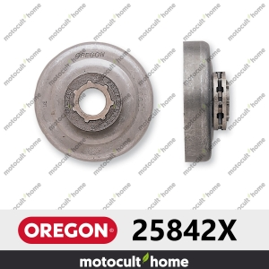 Pignon Oregon 25842X 3/8andquot; Power Mate Standard 7 (STD7)-20
