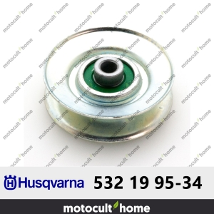 Poulie de guidage Husqvarna 532199534 ( 5321995-34 / 532 19 95-34 )-20