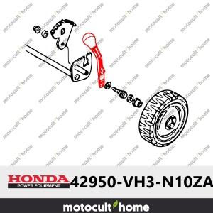 Levier de hauteur gris roue avant Honda 42950VH3N10ZA ( 42950-VH3-N10ZA ) *NH246R*-20