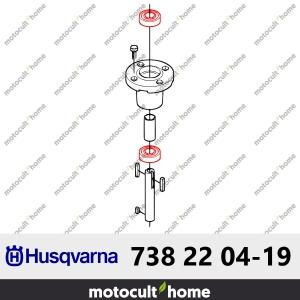 Roulement à billes Husqvarna 738220419 ( 7382204-19 / 738 22 04-19 )-20