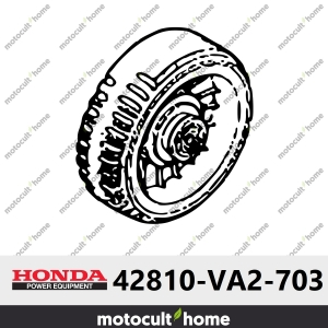 Roue arrière Honda 42810VA2703 ( 42810-VA2-703 )-20