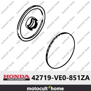 Capuchon de roue arrière Honda 42719VE0851ZA (42719-VE0-851ZA)-20