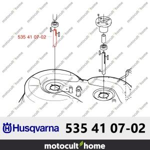 Arbre de lame Husqvarna 535410702 ( 5354107-02 / 535 41 07-02 )-20