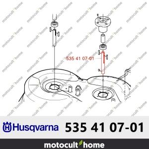 Arbre de lame Husqvarna 535410701 ( 5354107-01 / 535 41 07-01 )-20
