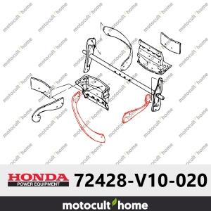 Caoutchouc de ramasseuse gauche Honda 72428V10020 (72428-V10-020)-20