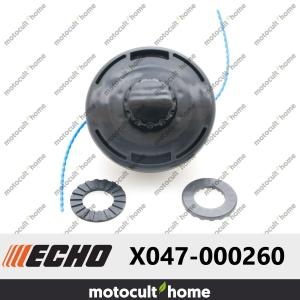 Tête semi-automatique 2 fils 2,4mm Echo X047-000260 F4/M10-20