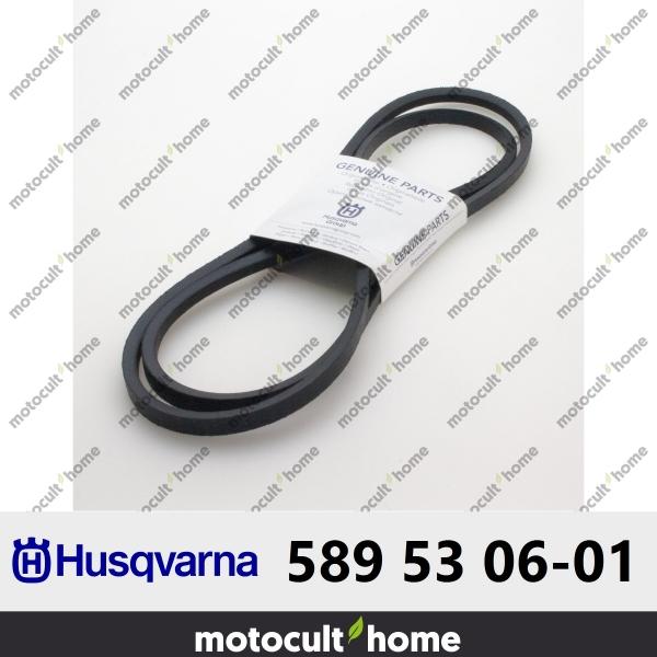 Courroie Husqvarna 589530601 ( 5895306-01 / 589 53 06-01 )-20