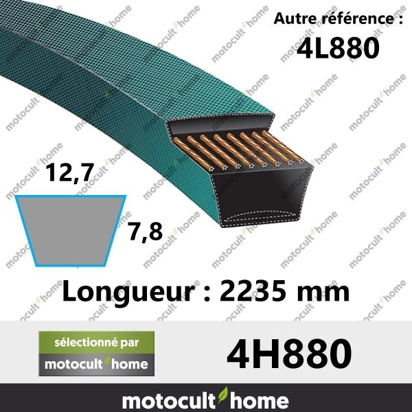 Courroie 4L880-20