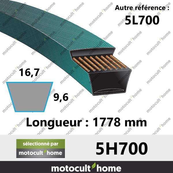 Courroie 5L700-20