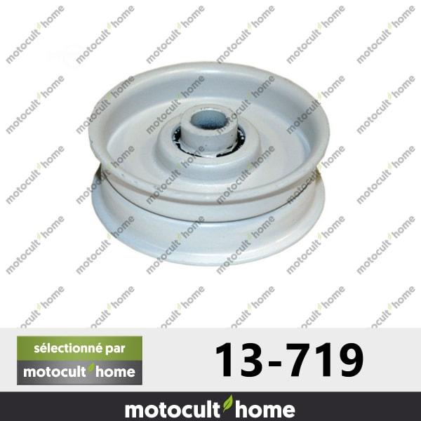 Poulie Galet tendeur Mtd 7560137 hauteur 19mm-20