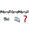 """Chaîne de tronçonneuse Oregon 91VXL050E VersaCut 3/8"""" 1,3mm/.050"""" 50 maillons"""